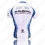 2009 Team SUBARU Riding Jersey White Blue