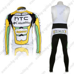 2010 HTC highroad Cycling Long Bib Kit