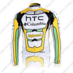 2010 HTC highroad Cycling Long Jersey