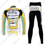2010 HTC highroad Cycling Long Kit