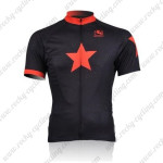 2010 Johnny's Cycling Jersey Black Red