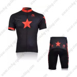 2010 Johnny's Cycling Kit Black Red