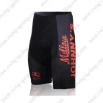 2010 Johnny's Cycling Shorts Black Red