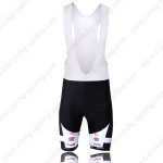 2010 KUOTA indeland Cycling Bib Shorts Black White