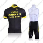 2010 Mellow Johnny's Cycling Bib Kit Black Yellow