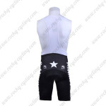2010 Mellow Johnny's Cycling Bib Shorts Black White
