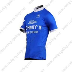 2010 Mellow Johnny's Cycling Jersey Blue