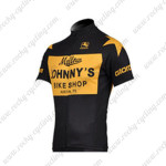 2010 Mellow Johnny's Cycling Jersey Yellow Black