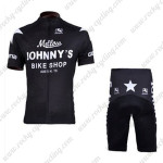 2010 Mellow Johnny's Cycling Kit Black White