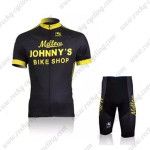 2010 Mellow Johnny's Cycling Kit Black Yellow