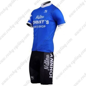 2010 Mellow Johnny's Cycling Kit Blue