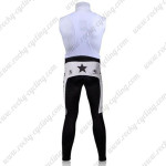 2010 Mellow Johnny's Cycling Long Bib Pants White