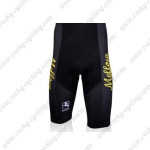 2010 Mellow Johnny's Cycling Shorts Black Yellow