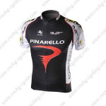2010 PINARELLO Cycling Jersey Black White