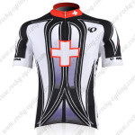 2010 Pearl Izumi Cycle Short Sleeve Jersey Black Cross