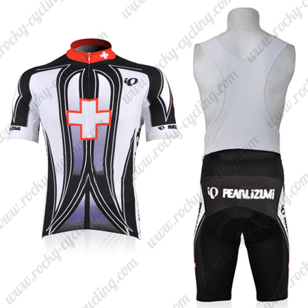 2010 Team Pearl Izumi Biking Outfit Cycle Jersey and Padded Bib ... aad110d43
