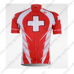 2010 Pearl Izumi Cycling Short Jersey Red Cross