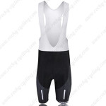 2010 Team BMC Cycling Bib Shorts White Black