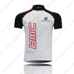2010 Team BMC Cycling Jersey White Black