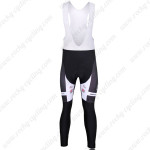 2010 Team KUOTA Biking Long Bib Pants Black White