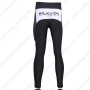 2010 Team KUOTA Biking Long Pants Black White