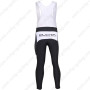 2010 Team KUOTA Cycling Long Bib Pants Black White