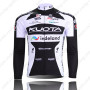 2010 Team KUOTA Cycling Long Jersey Black White