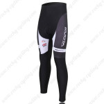 2010 Team KUOTA Cycling Long Pants Black White