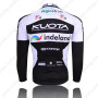 2010 Team KUOTA Riding Long Jersey Black White