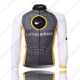 2010 Team LIVESTRONG Cycling Long Jersey Grey White