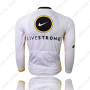 2010 Team LIVESTRONG Riding Long Jersey Grey White