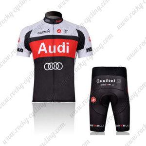 2011 Team AUDI Cycle Clothing Biking Jersey and Padded Shorts ... 4f151c937