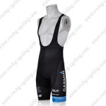 2011 GARMIN cervelo Cycle Bib Shorts Black