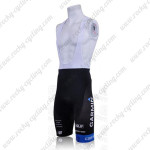 2011 GARMIN cervelo Cycle Bib Shorts White
