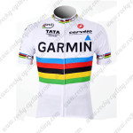 2011 GARMIN cervelo UCI Cycling Jersey White