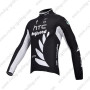 2011 HTC Highroad Cycle Long Jersey Black