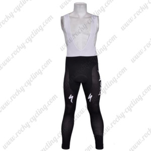 2011 HTC Highroad Cycling Bib Pants Black