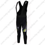 2011 HTC Highroad Cycling Black Bib Pants