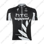 2011 HTC Highroad Cycling Short Jersey Black
