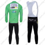 2011 HTC Highroad Riding Long Bib Kit Green