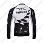 2011 HTC Highroad Riding Long Jersey Black