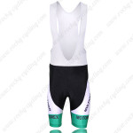 2011 MERIDA UCI Champion Cycling Bib Shorts White Rainbow