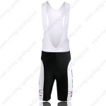 2011 Mcdonald's Cycling Bib Shorts White Yellow