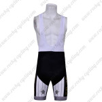 2011 Pearl Izumi Cycling Bib Shorts White Black