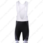 2011 Team BMC Cycling Bib Shorts Black White