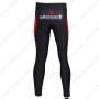 2011 Team Bissell Biking Long Pants White Red