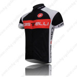 2011 Team Castelli Bike Jersey Black Red