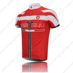 2011 Team Castelli Pro Bicycle Jersey Red