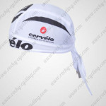 2011 Team Cervelo Cycling Bandana Head Scarf White