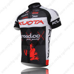 2011 Team KUOTA Cycle Jersey Black Red
